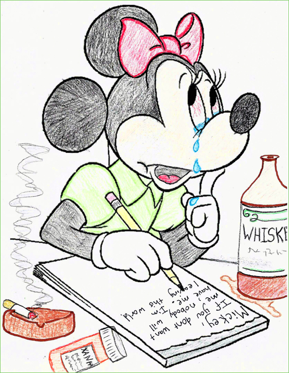 Guest post goodbye mickey coloring book corruptions Coloring book corruptions