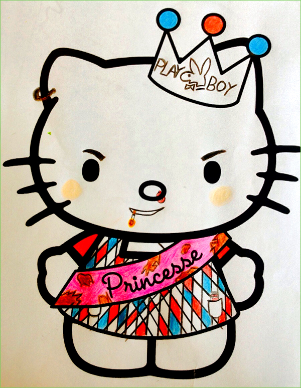 Guest Post PlayBoy Kitty Coloring Book Corruptions
