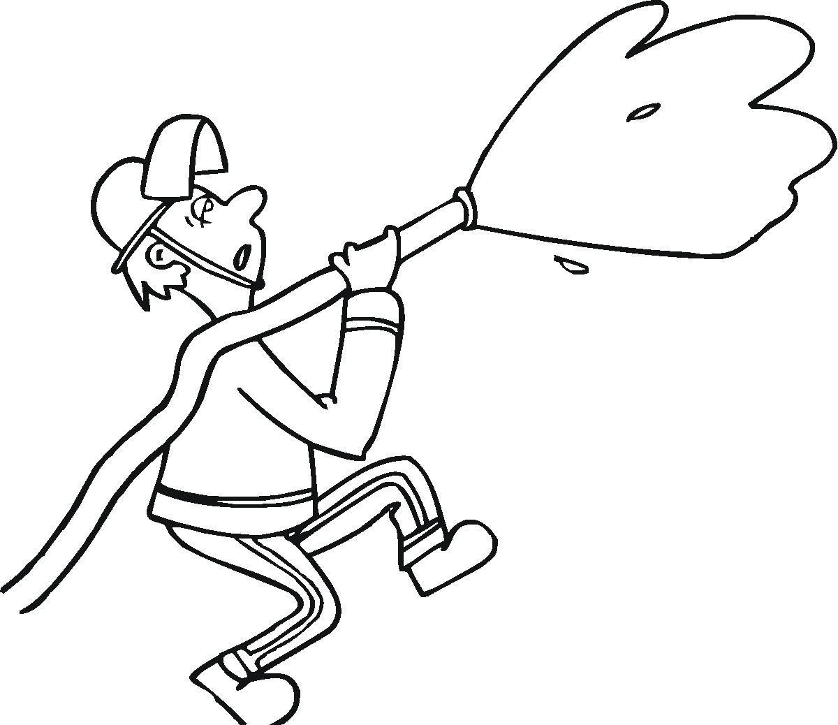 18 Best Fireman Coloring Pages For Kids