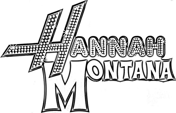 hannah montana coloring pages # 13