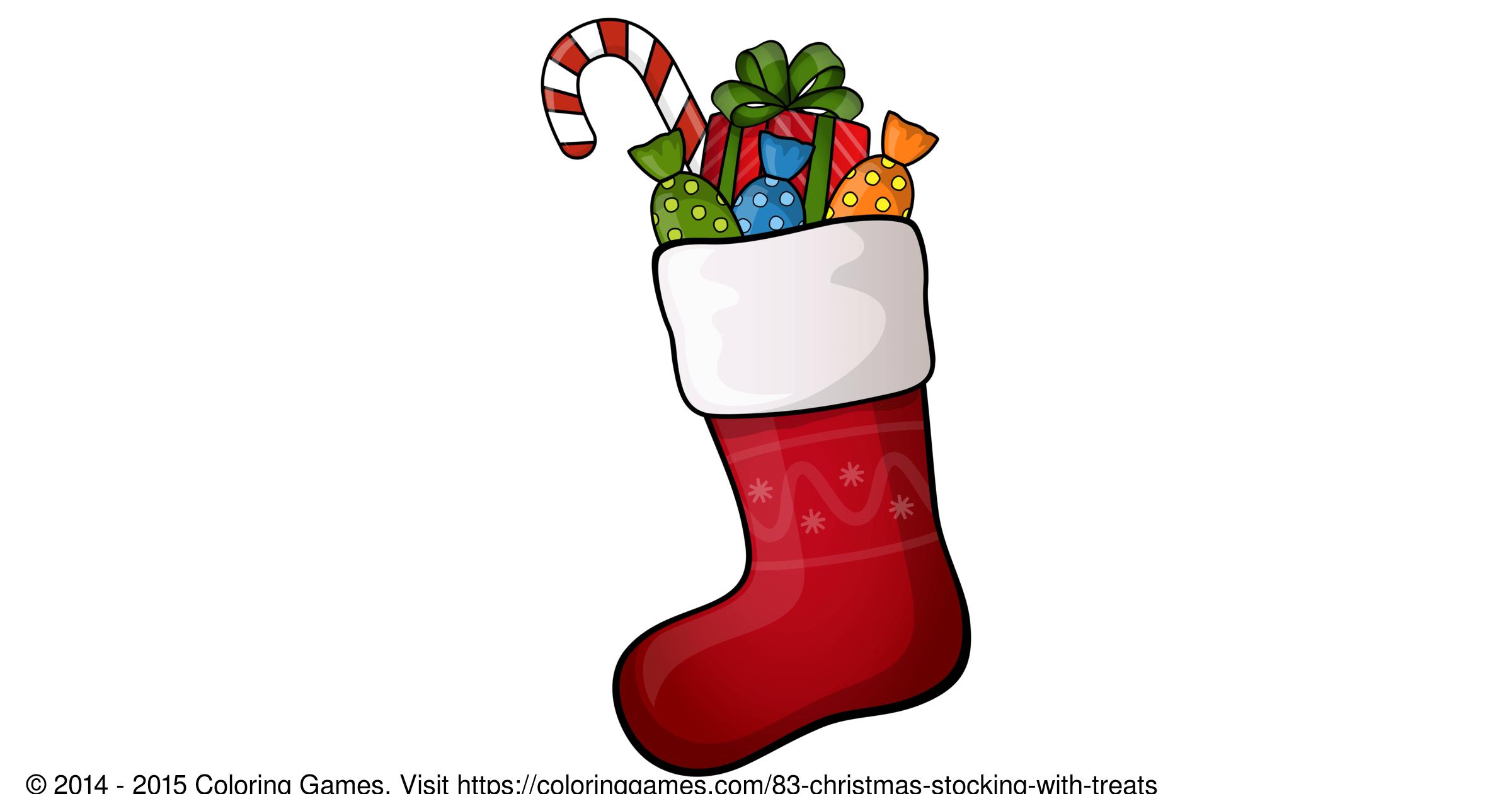 Christmas Stocking With Treats