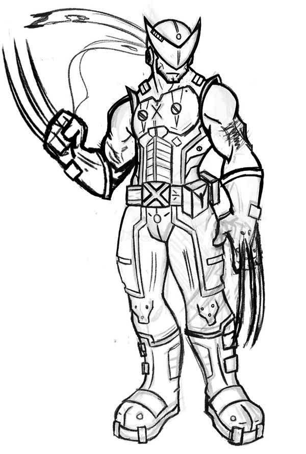 X Men Colossus Coloring Pages Coloring Home