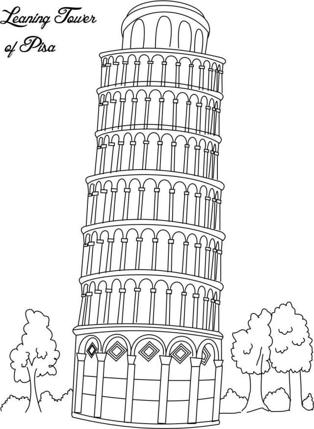 Italian Coloring Page - Coloring Home