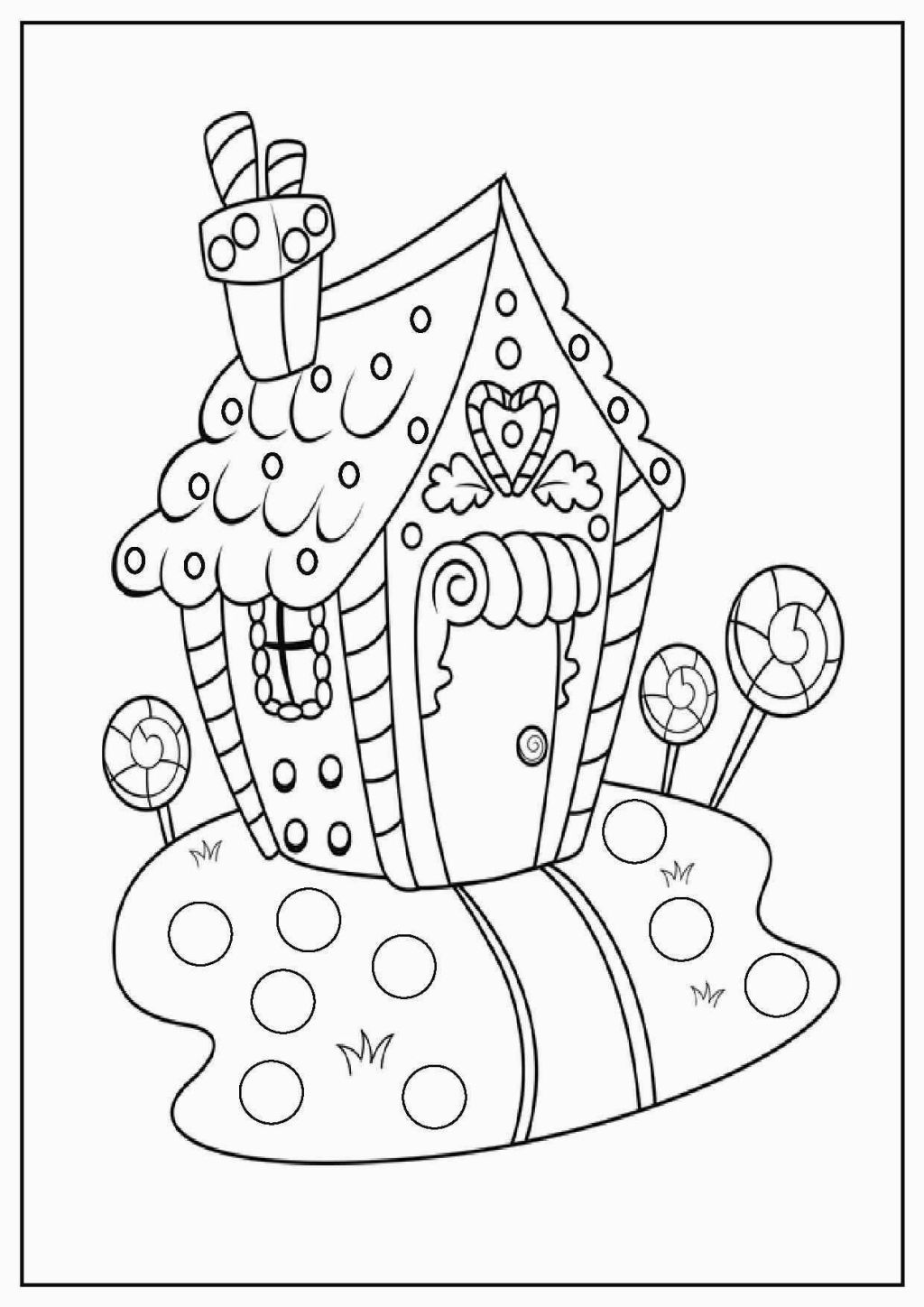 Twas The Night Before Christmas Printable Coloring Pages