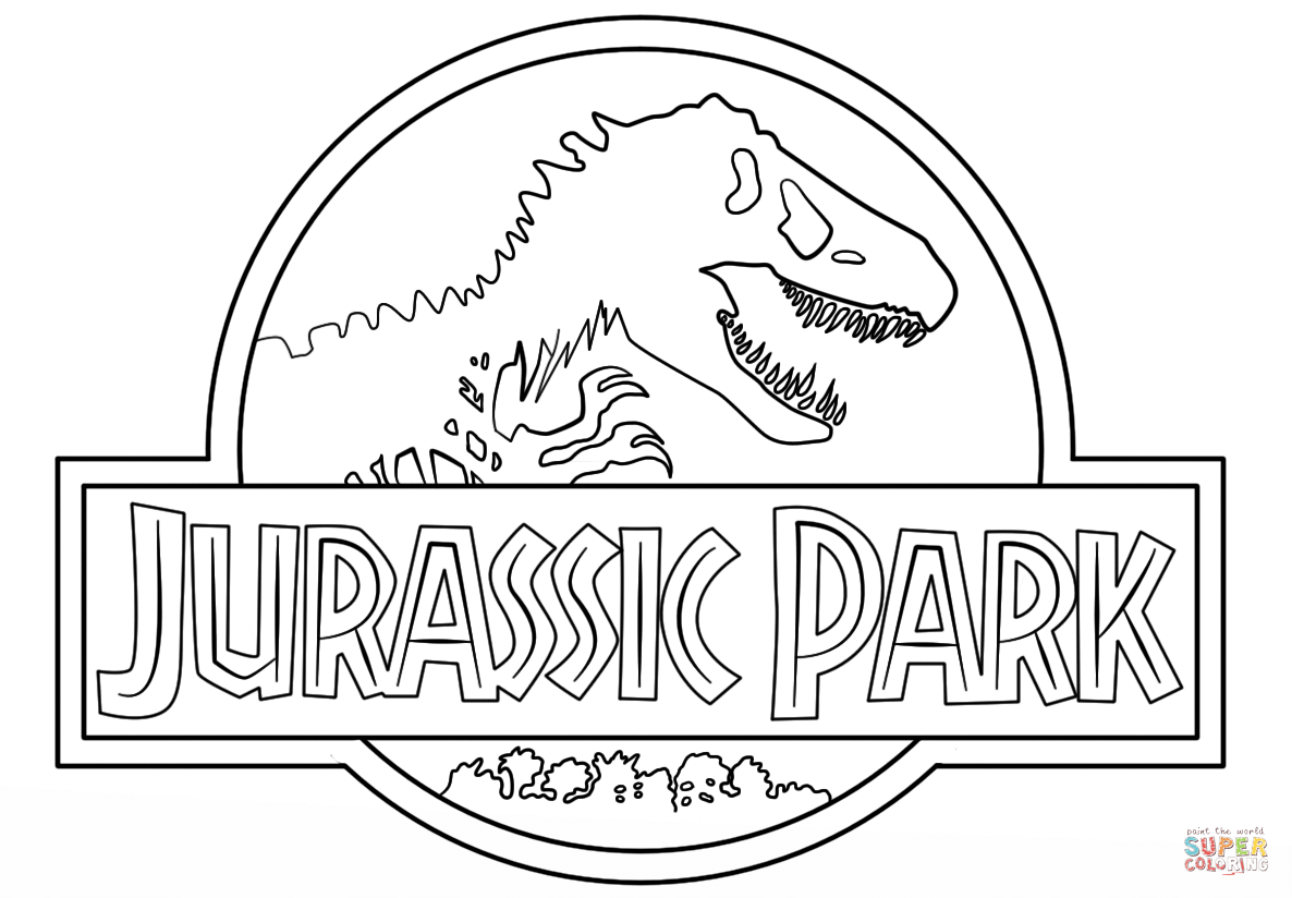 Free Printable Jurassic Park Coloring Pages