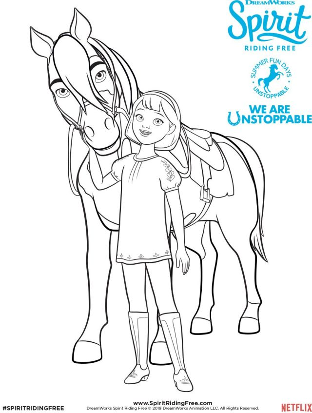 Abigail & Boomerang Coloring Page pinterest.com - Coloring Home