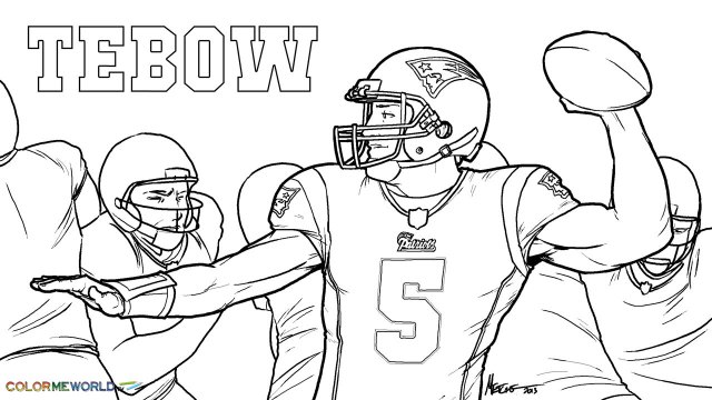 Tom Brady Coloring Pages Page 10 - Coloring Home