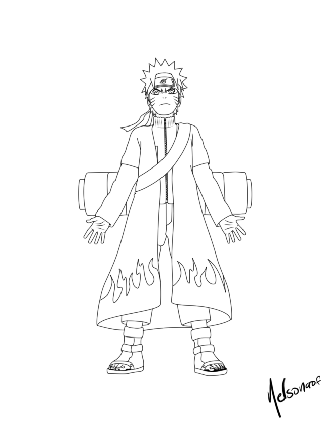 Naruto Shippuden Coloring Pages To Print  Coloring Pages