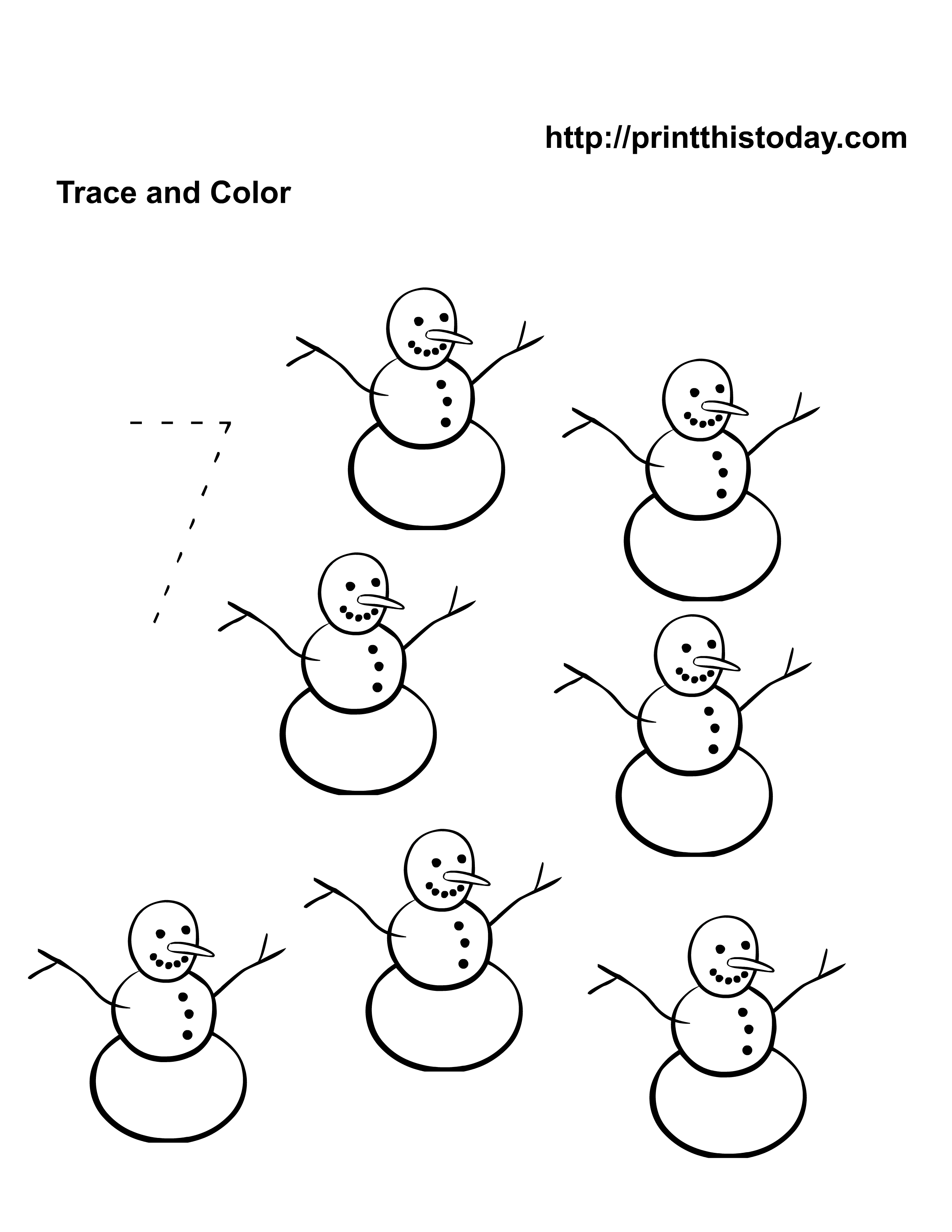 Christmas Tree Color By Number Add Subtract Printable