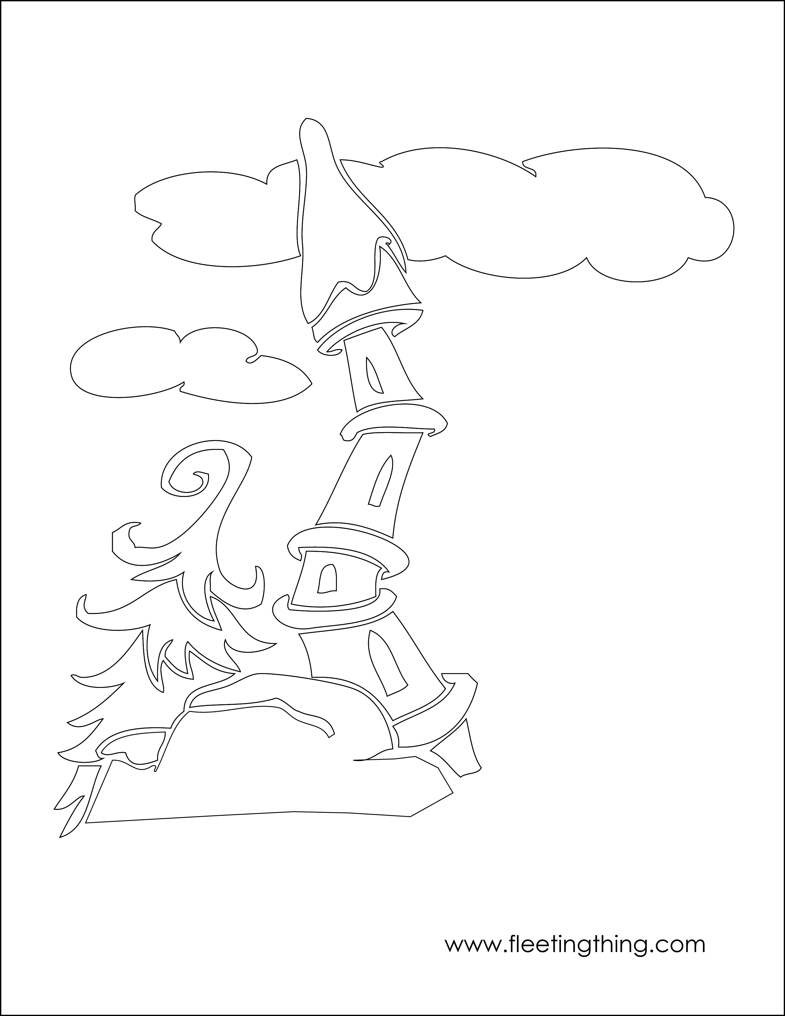 Whoville Characters Coloring Pages