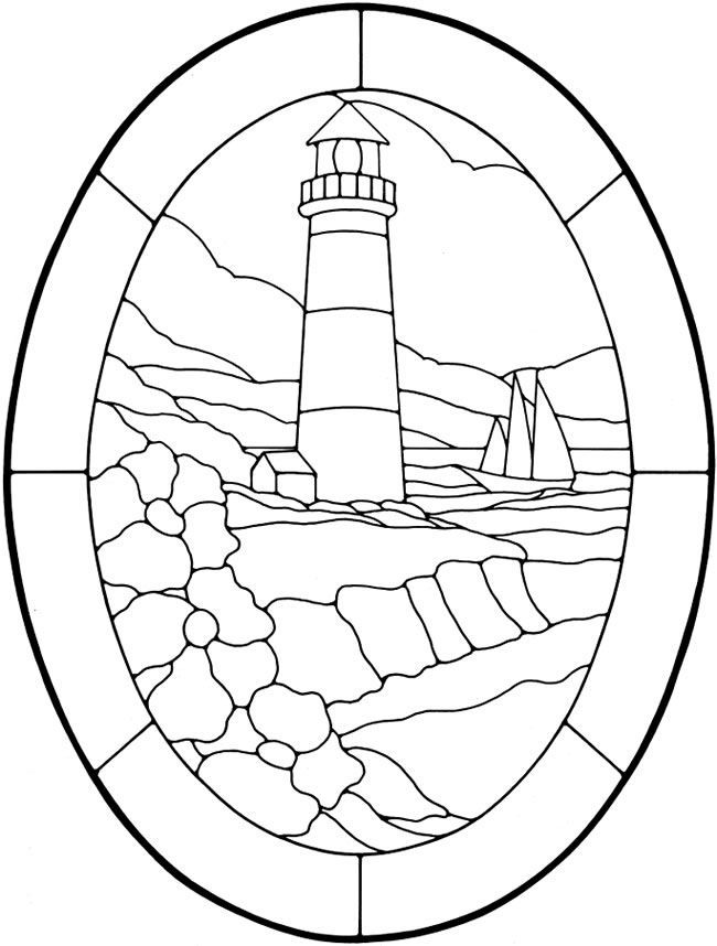 Lighthouse Coloring Pages Free Coloring Home