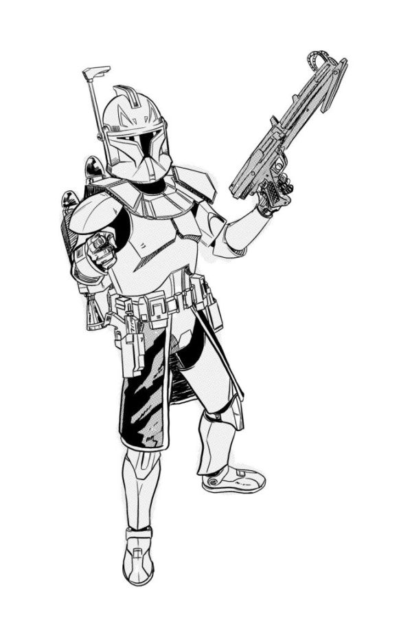 star wars clone wars coloring pages # 23