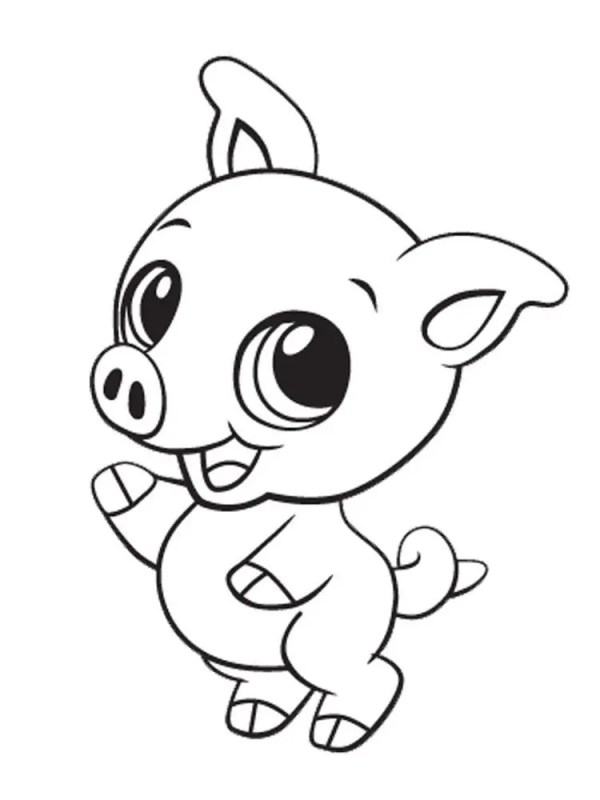 coloring pages cute animals # 6