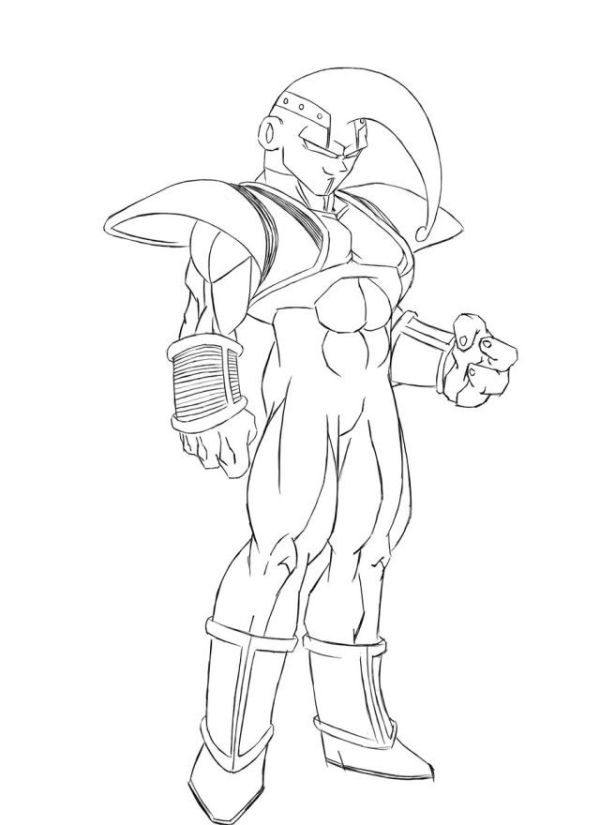 dragon ball gt coloring pages # 4