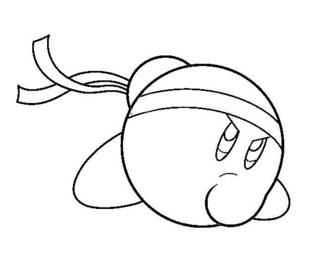 Kirby Coloring Pages Coloring Home