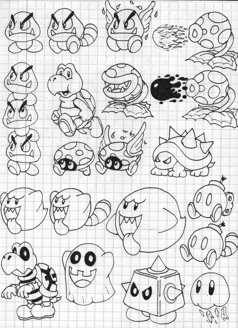 coloring pages mario 3d world  coloring home