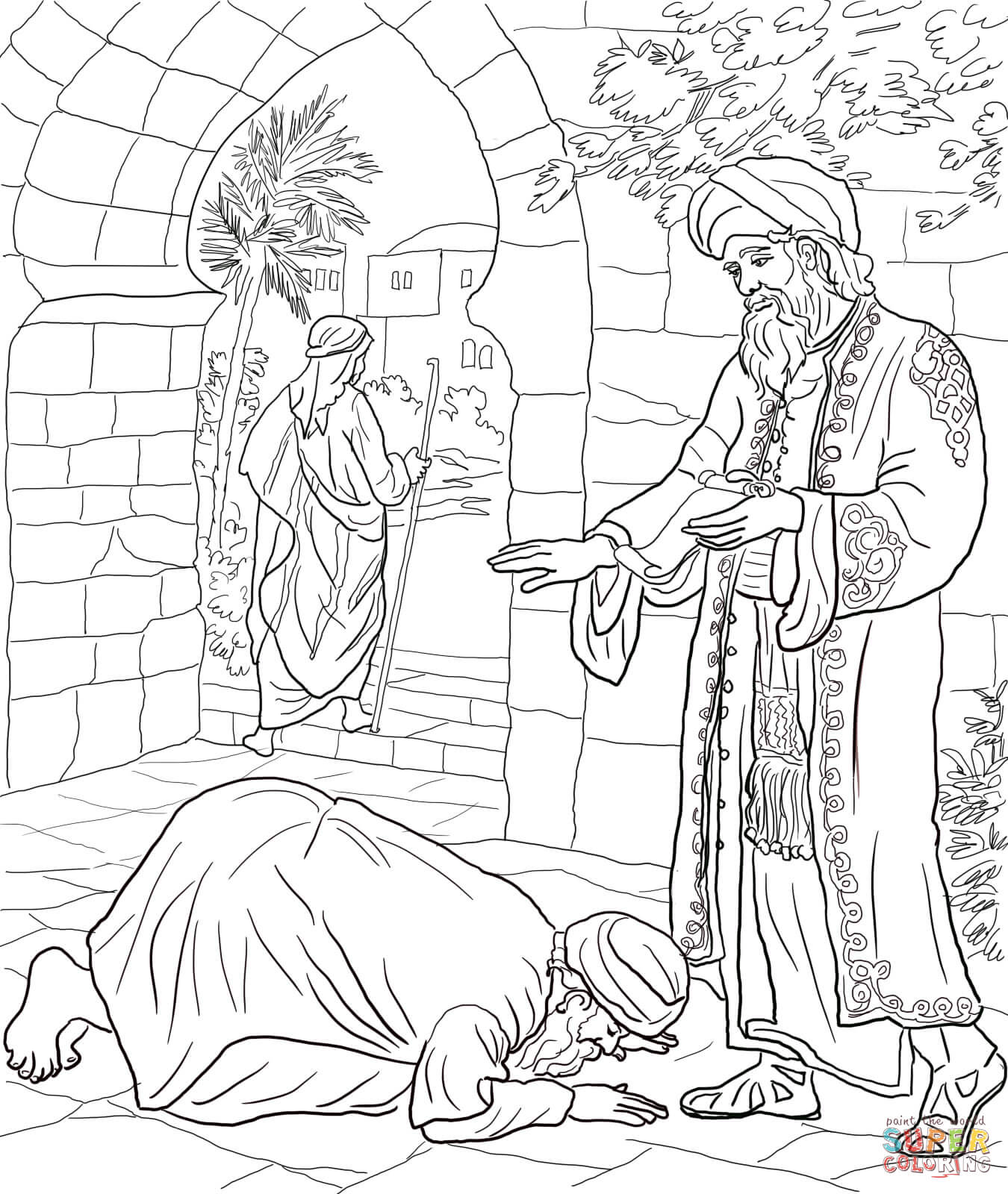 Parable Coloring Pages
