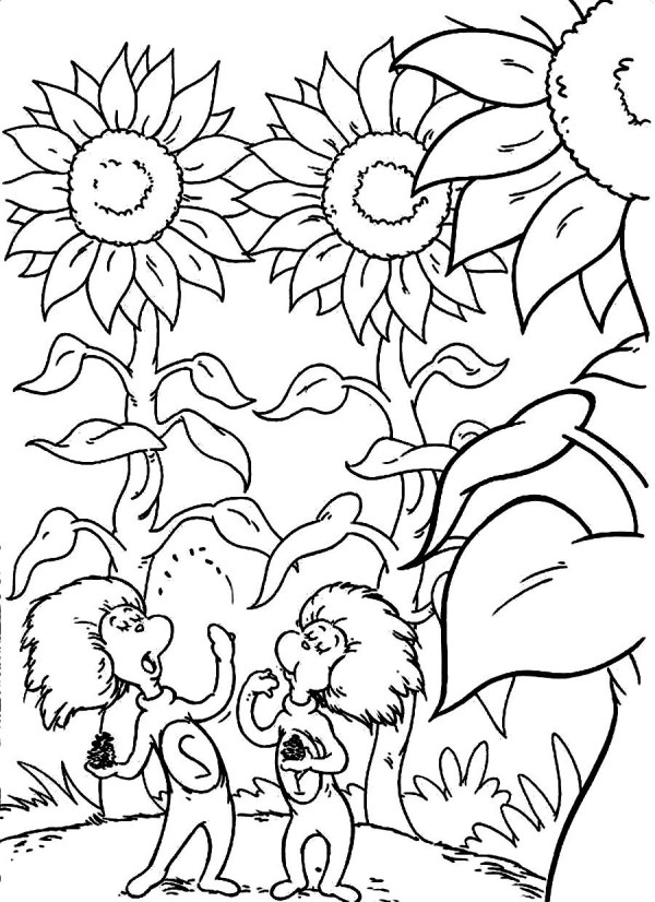 thing 1 and thing 2 coloring pages # 15
