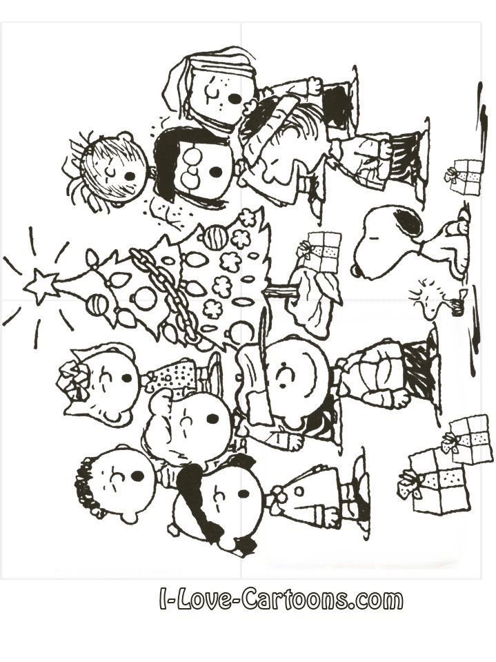charlie brown coloring pages christmas printables