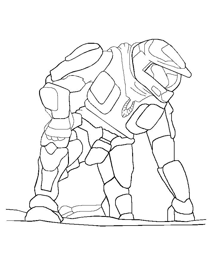 master chief coloring pages  coloring home