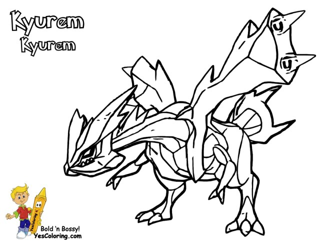 Zekrom Coloring Pages - Coloring Pages Kids 17 - Coloring Home