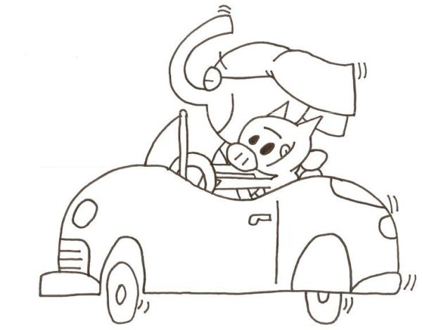 mo willems coloring pages # 8