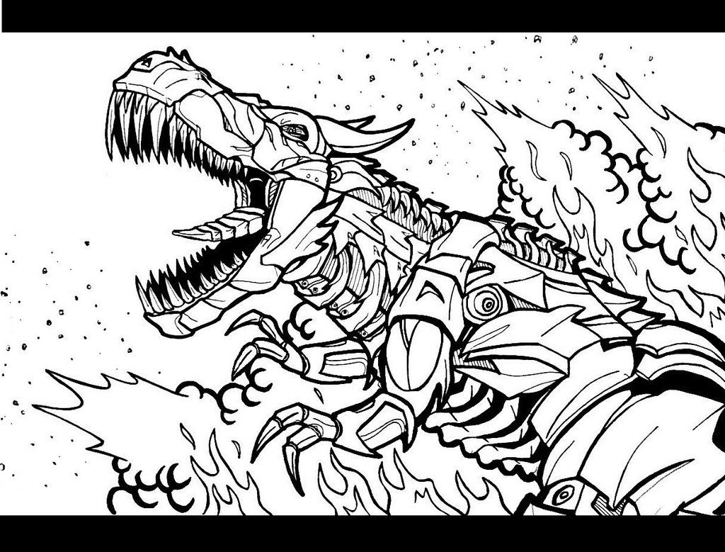 Grimlock Coloring Coloring Pages