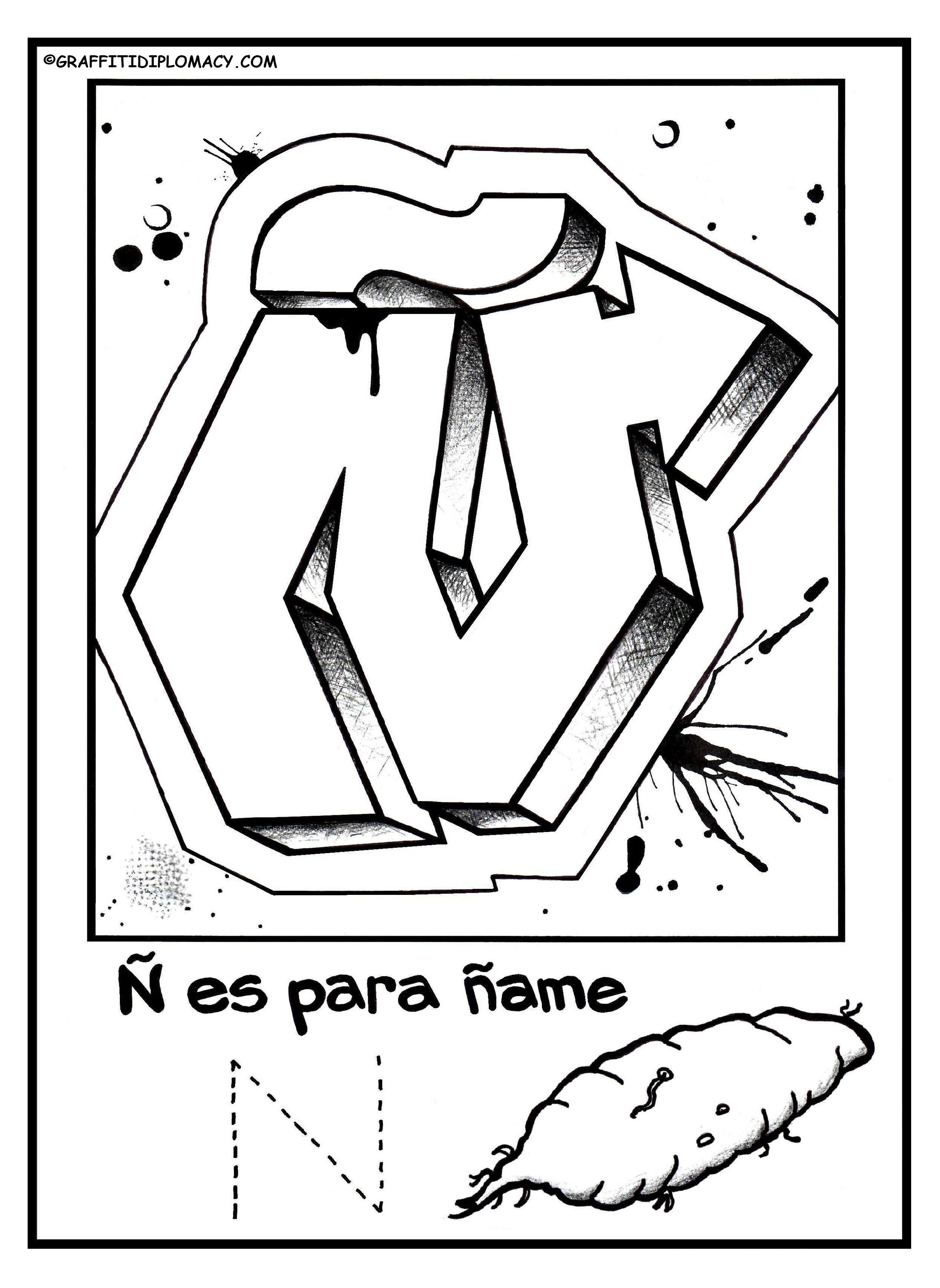 Spanish Christmas Candle Letters Worksheet Color Online