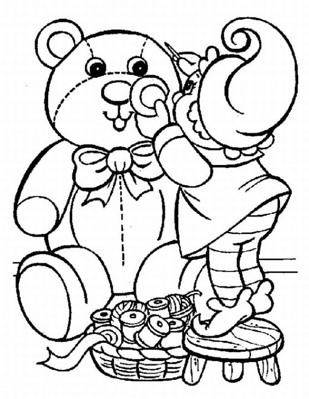 Christmas Coloring Pages For Preschoolers Coloring Home