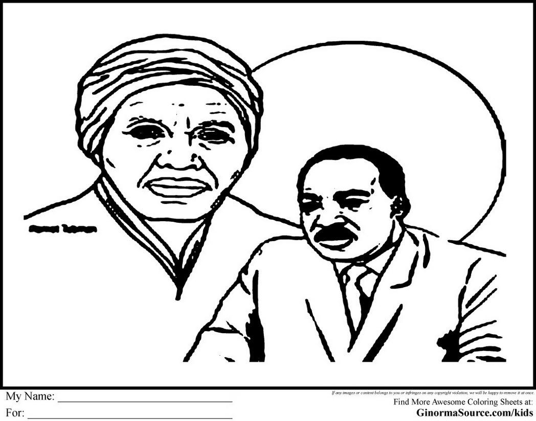 About Harriet Tubman Worksheet