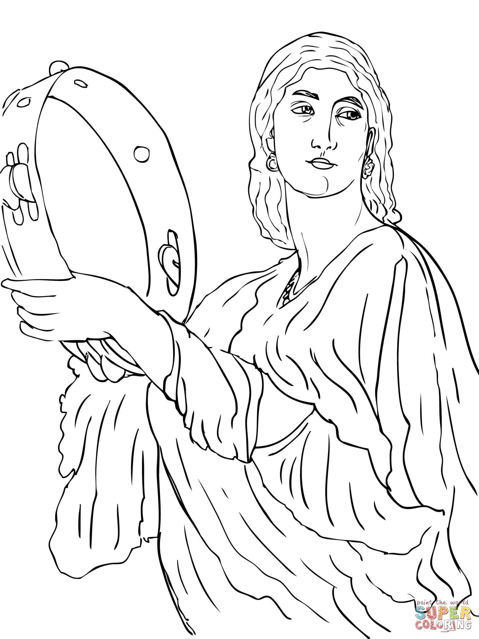 Coloring Pages Crossing The Red Sea