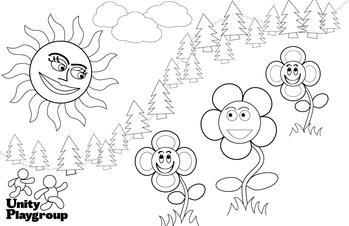 Coloring Pages For Playgroup