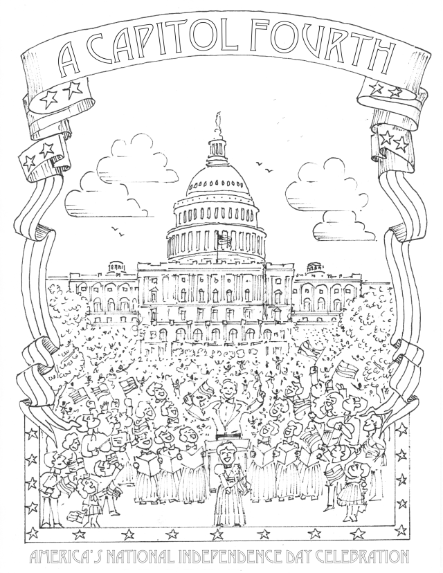 Washington Dc Coloring Pages - Coloring Home