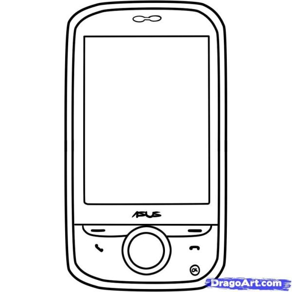 phone coloring pages # 11