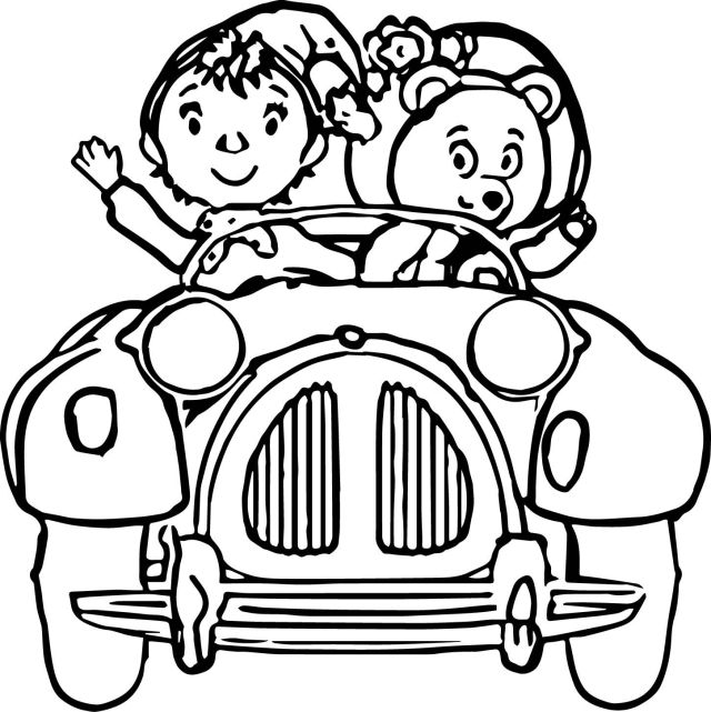 Noddy Coloring Pages Download And Print For Free - Coloring Home