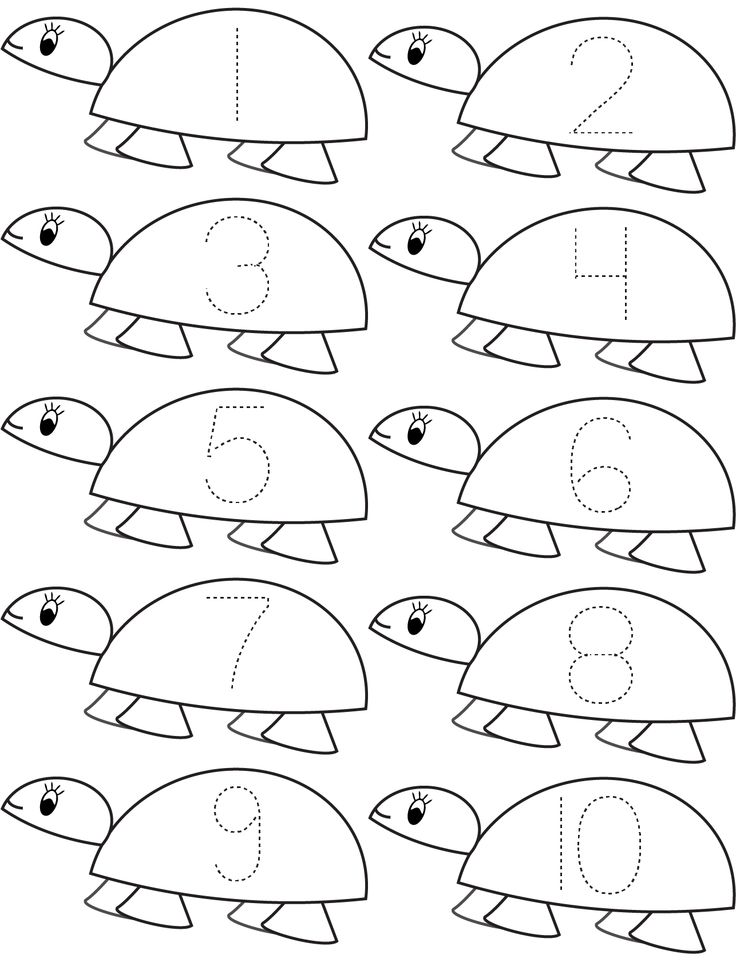 Math Coloring Pages For Kindergarten - Coloring Home | number coloring pages for kindergarten