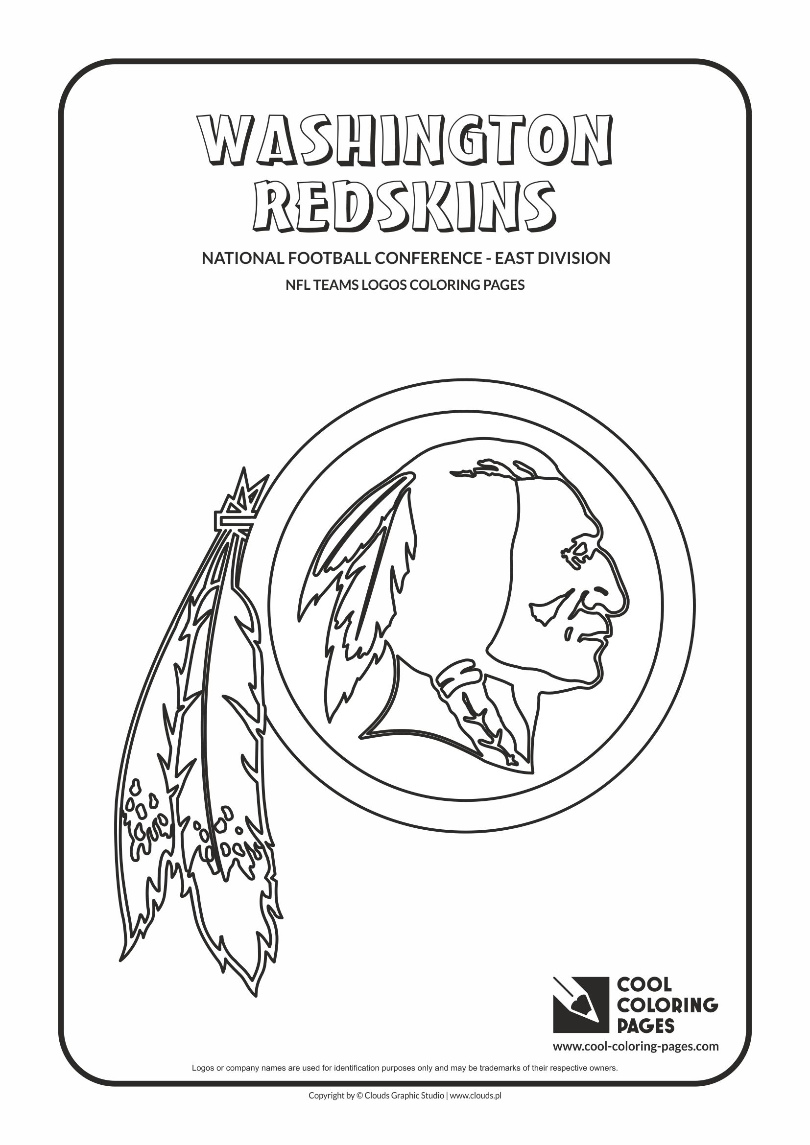 Redskins Coloring Pages
