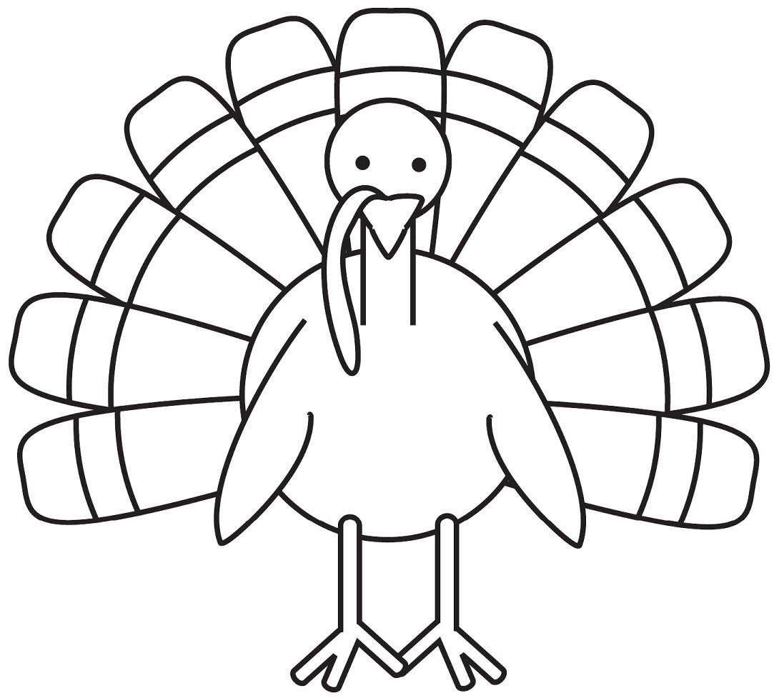 Turkey Coloring Pages Printable Free Coloring Home
