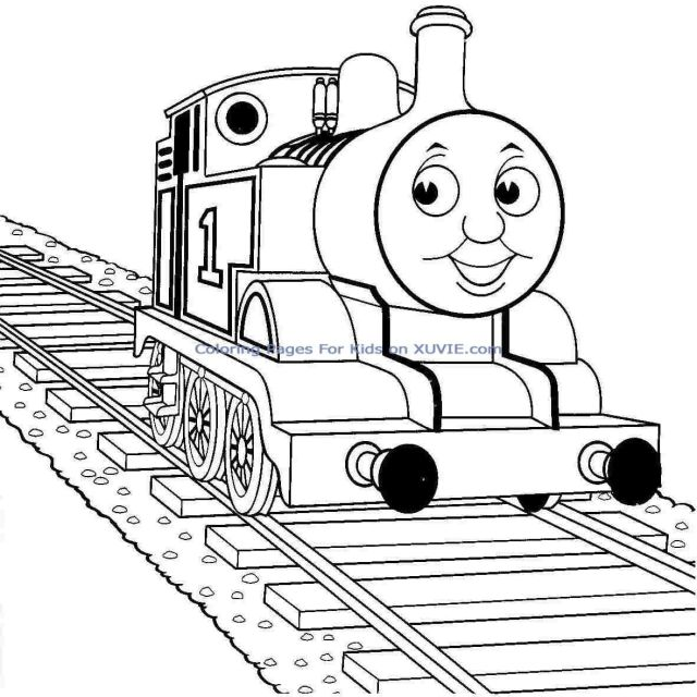 Thomas Train Coloring Pages Free Printable Thomas The Tank Engine