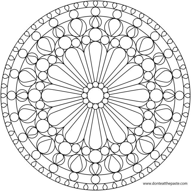 Free Printable Mandala Coloring Pages For Kids - Coloring Home