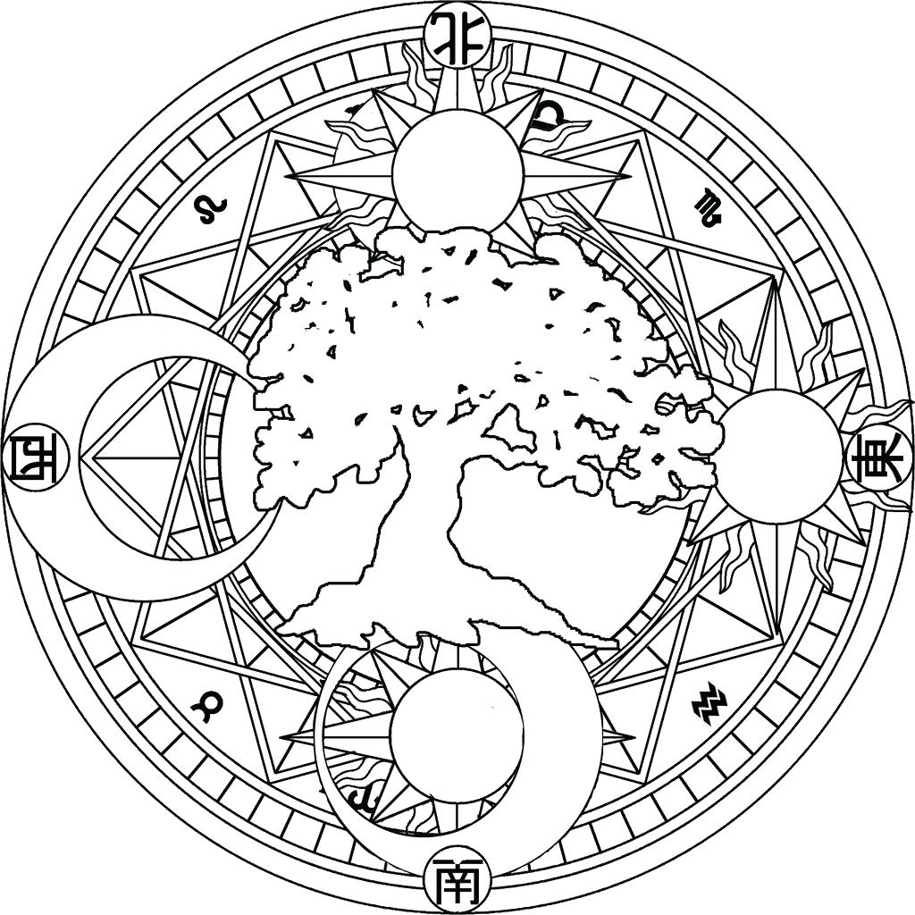 Coloring Book Sun Andn Coloring Pages Celestial Page