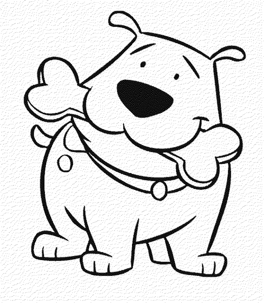 courage the cowardly dog coloring page  coloring home