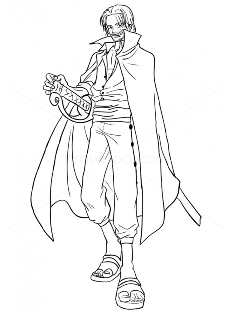 Coloring books can be good tools to explain surgery to your child. Zoro Coloring Pages Coloring Home
