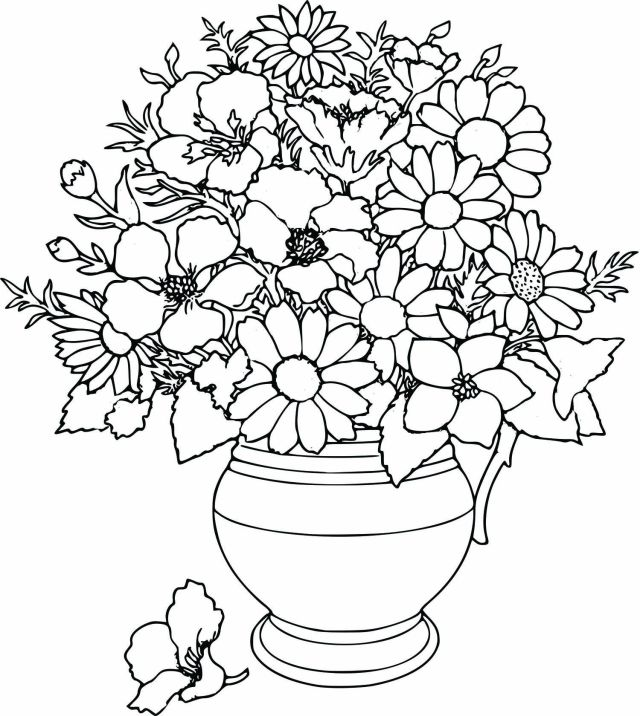 Coloring Pages Of Flowers For S - Coloring - Coloring Home