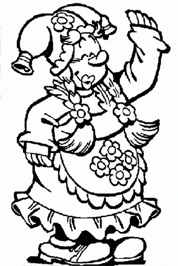 Plop The Gnome Coloring Pages Coloring Home