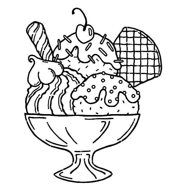desserts coloring pages  coloring home