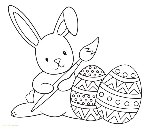 Free Rabbit Coloring Pages At GetDrawings  Free Download