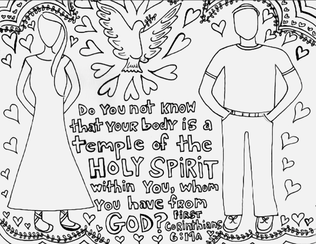 Love One Another Bible Verse Coloring Page See More Like