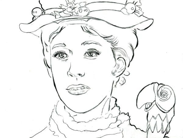 mary poppins coloring pages # 21