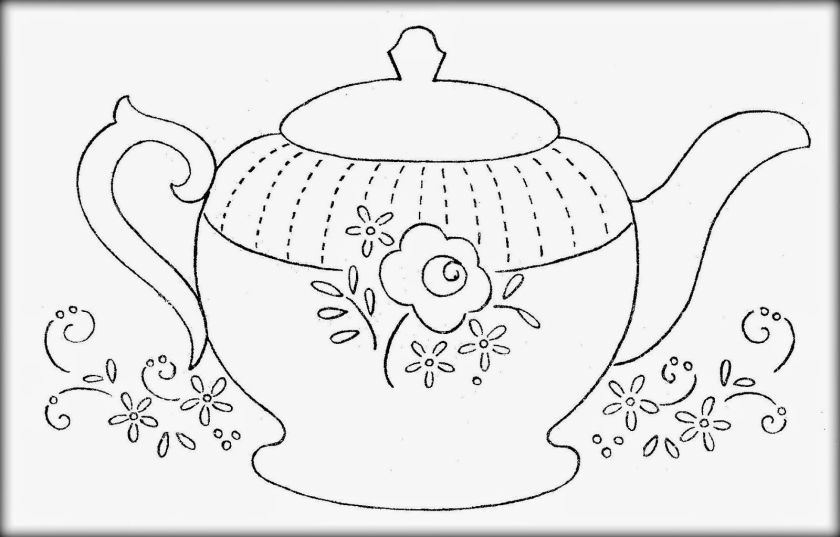 teapot coloring pages  coloring home